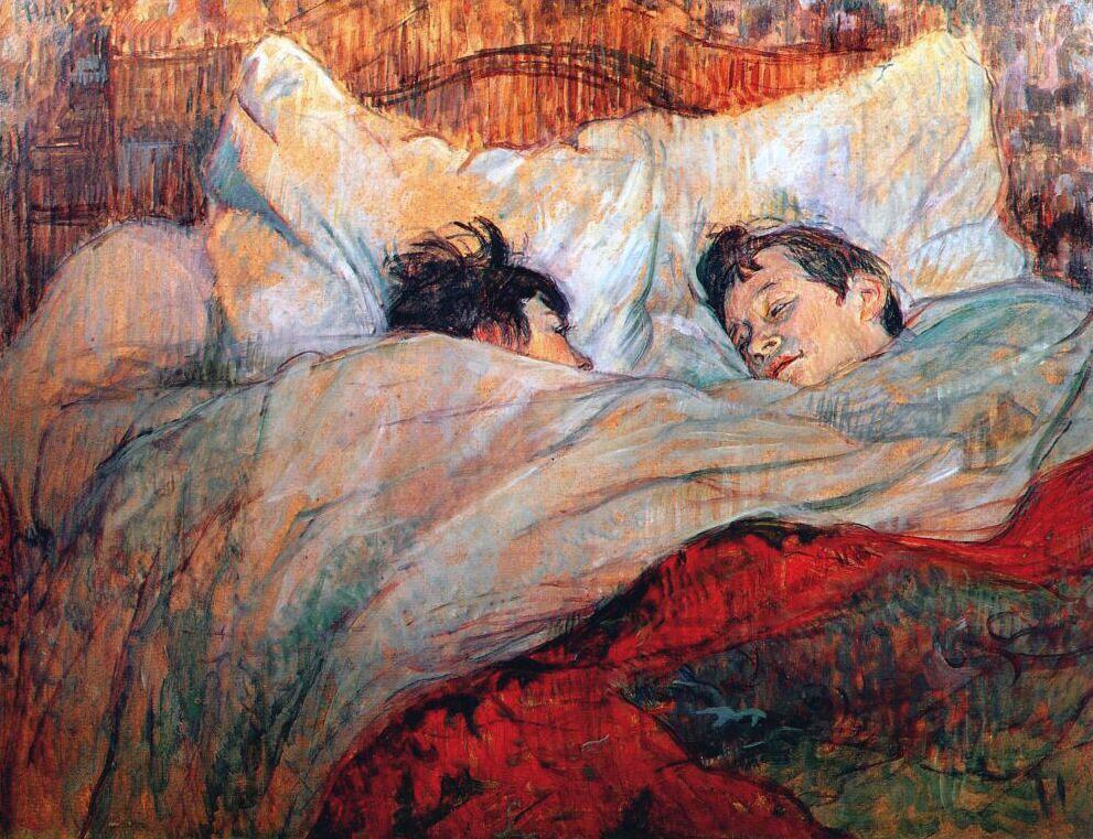 """Henri de Toulouse-Lautrec. """"La cama"""" (1892)"""